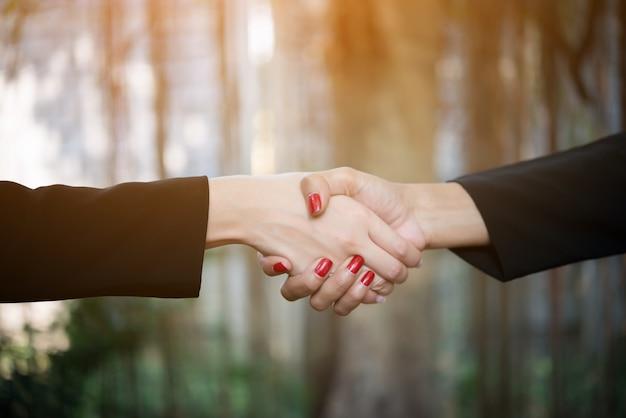 Samenwerking prestatie hand teamwork zakenman