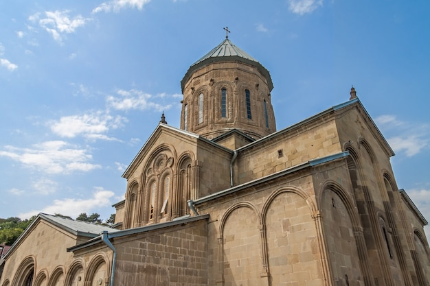 Samtavro orthodox klooster in mtskheta, georgië