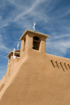 San francisco de asis mission church in new mexico