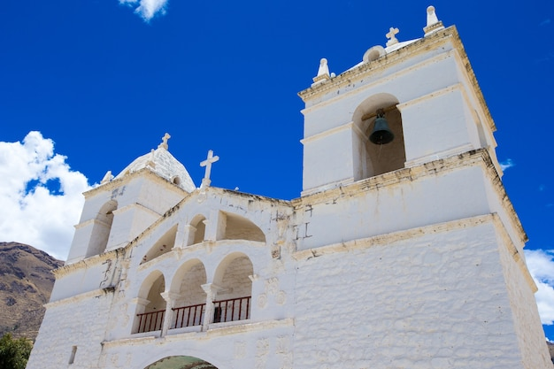 San pedro de alcantara-kerk in cabanaconde, peru