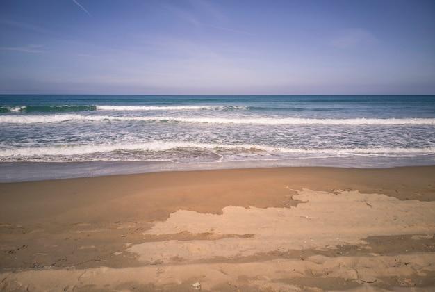 San vincenzo strand in toscane (italië) geschoten in de ochtend #2