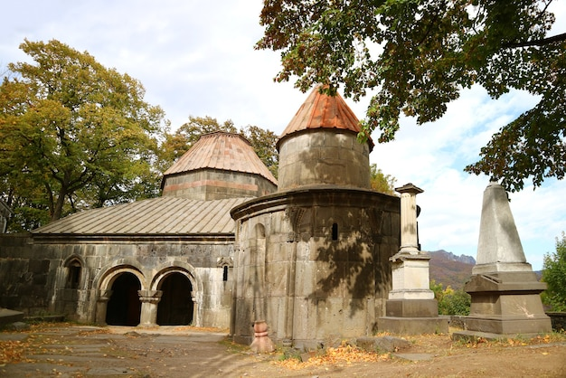 Sanahin-kloostercomplex, indrukwekkend unesco-werelderfgoed in de provincie lori in armenië