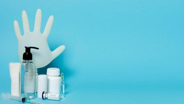 Sanitaire producten en kopieerruimte-indeling