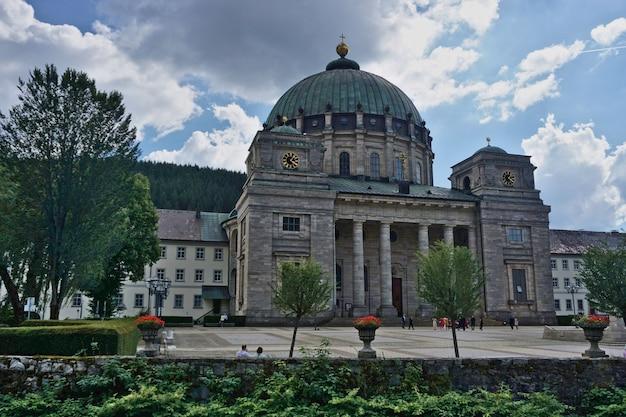 Sankt blasien cathedral, zwarte woud, baden-wuerttemberg, duitsland.
