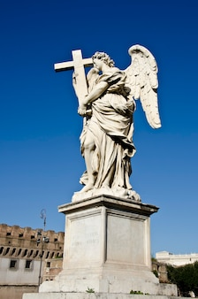 Sant angelo castle in rome, italië