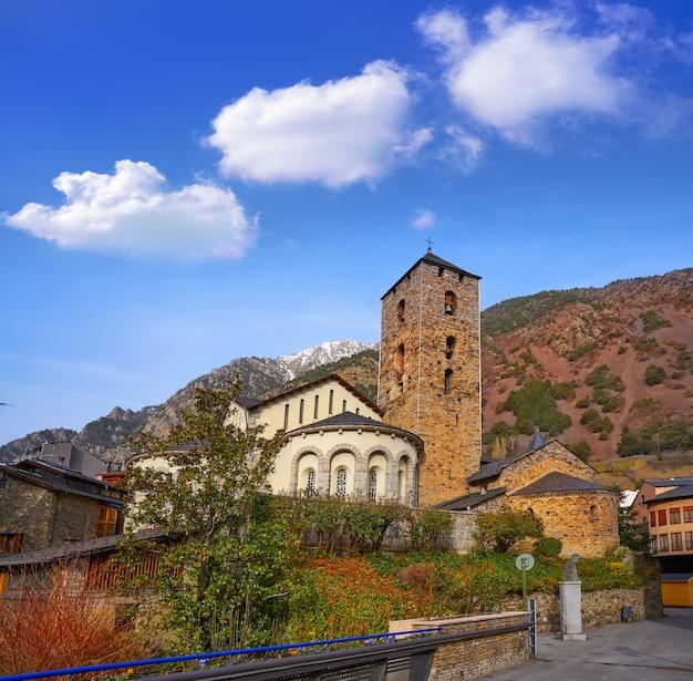 Sant esteve-kerk in andorra la vella