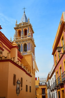 Santa ana kerk van sevilla in spanje in triana
