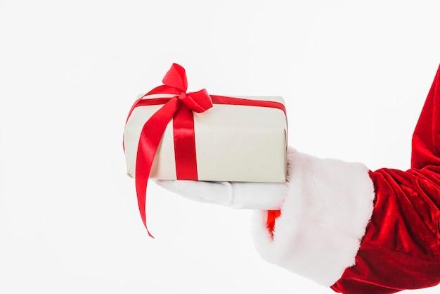 Santa claus die kleine geschenkdoos