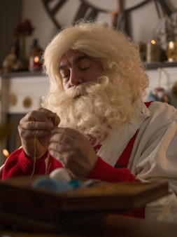 Santa claus thuis
