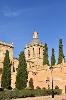 Santa maria cathedral, ciudad rodrigo, de provincie van salamanca, spanje