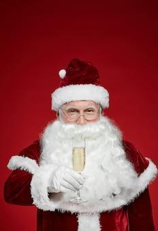 Santa vieren kerstmis