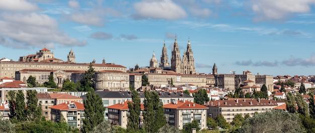 Santiago de compostela panoramisch uitzicht