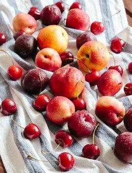 Sappig vers fruit