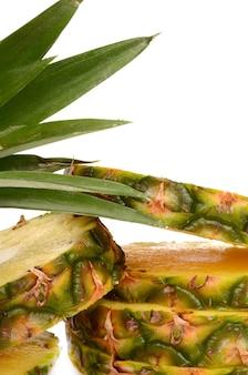 Sappige ananas is altijd een genot voor uw smaak
