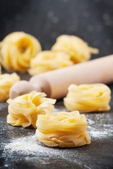 Sardische traditionele pasta droge malloreddus