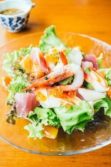 Sashimi-salade