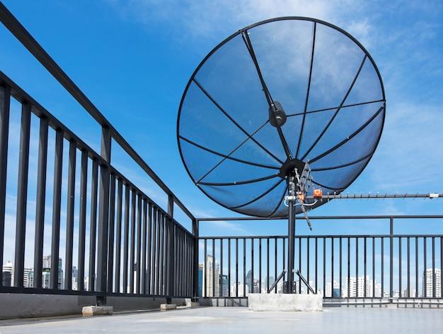 Satelliet op dak