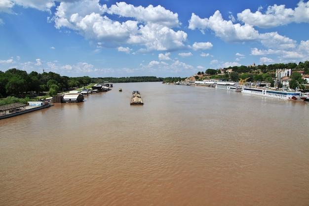 Sava rivier in belgrado, servië