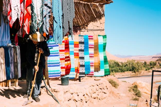 Scène uit marokko