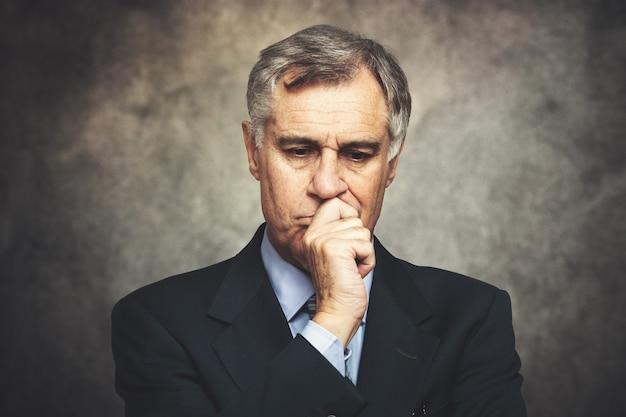 Sceptisch zakenmanportret