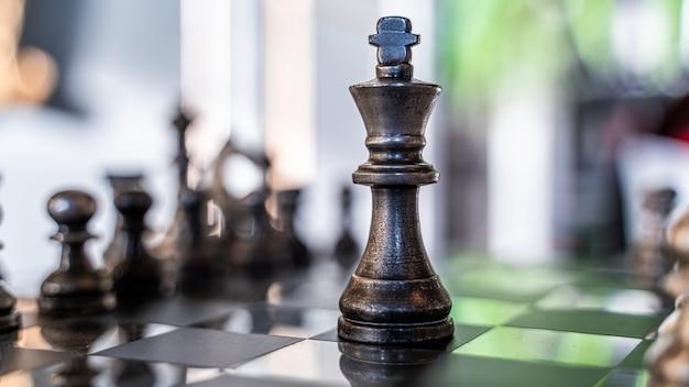Schaak winnende spel