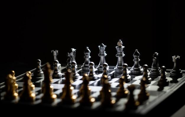 Schaakbordspel voor competitie en strategie