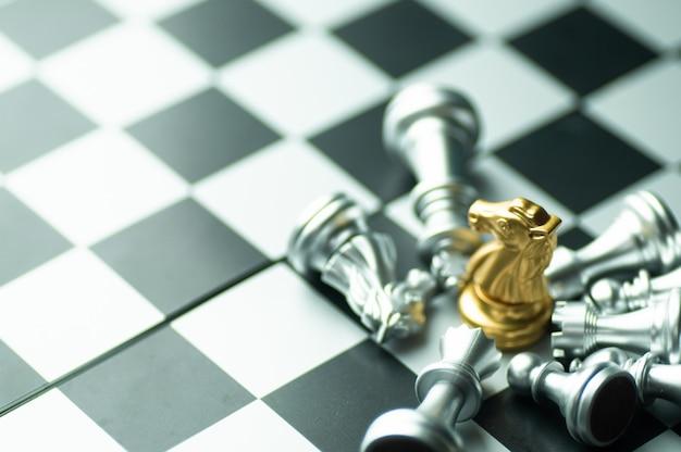 Schaakwedstrijd