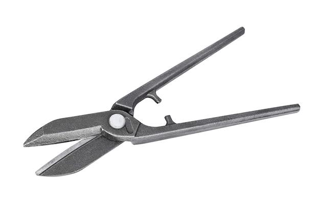 Schaar voor het snijden van geïsoleerd metaal