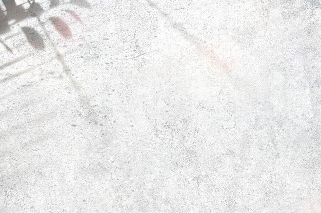 Schaduw op een betonnen muur