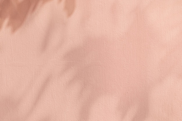 Schaduw roze achtergrond met cement textuur