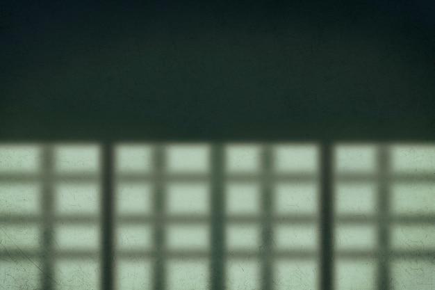 Schaduwvloer groene achtergrond gekrast concept