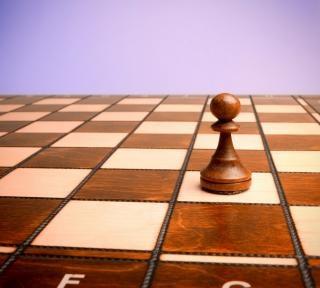 Schaken concurrentie figuur
