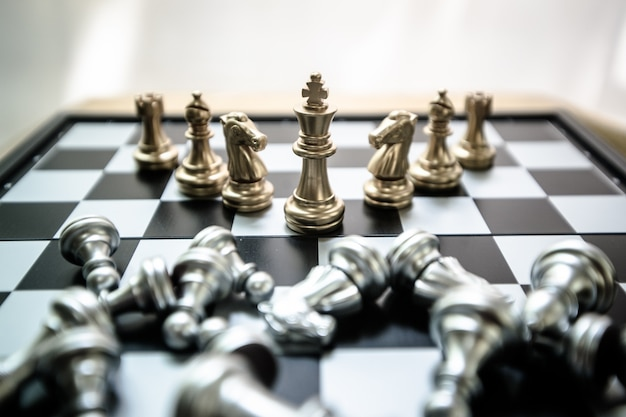Schaken is net als zaken doen, voor de toekomst, om competitie te laten winnen.
