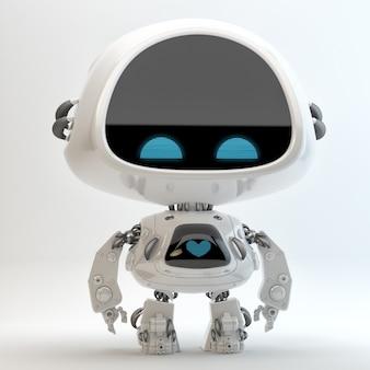 Schattig robotkarakter