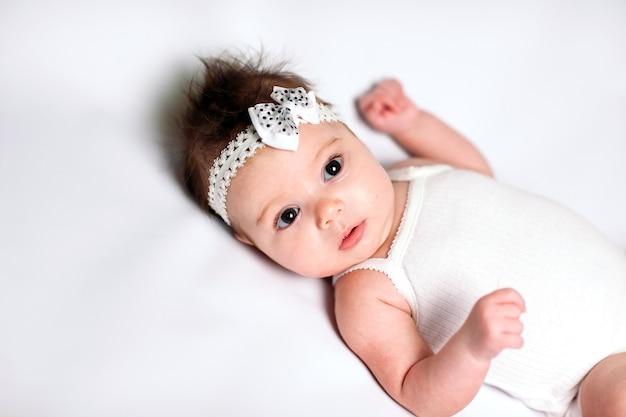 Schattige babymeisje