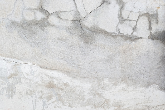Scheuren in oude cementmuren. bouwconcept.