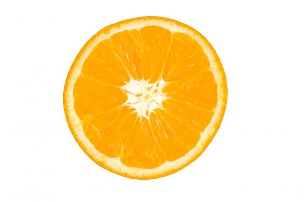 Schijfje sinaasappel
