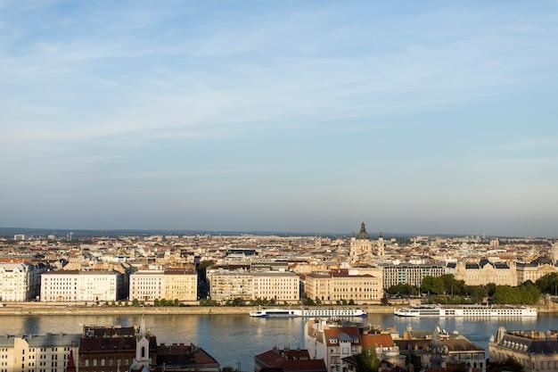 Schilderachtig uitzicht in boedapest, hongarije