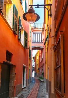 Schilderachtig uitzicht van manarola, ligurië, italië