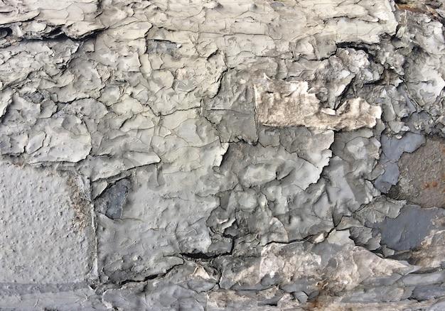Schilferige gebarsten verf grunge textuur abstracte achtergrond