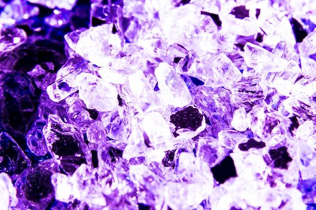 Schitter textuurachtergrond met kristallen