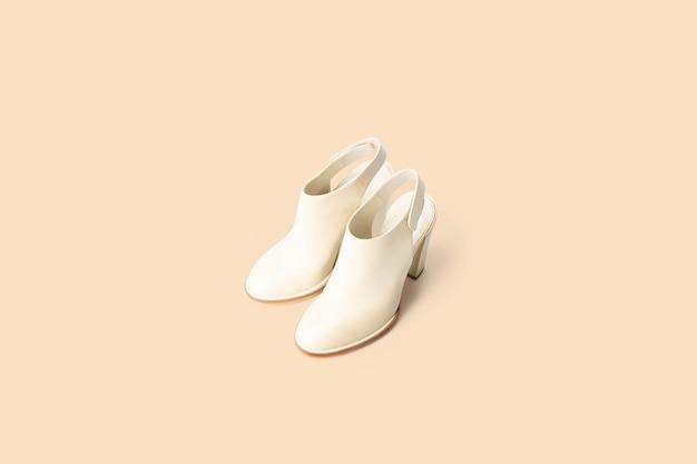 Schoen minimale stijl schoonheid voor vrouwen