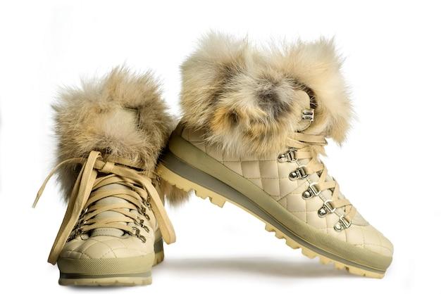 Schoenen op een witte achtergrond