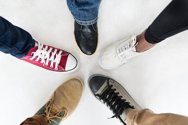 Schoenen van verschillende stijlen