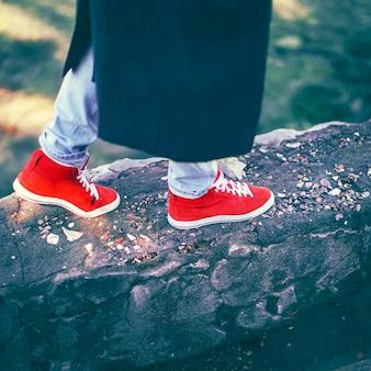 Schoenen voor een wandeling