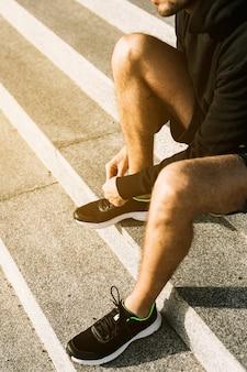 Schoenveters binden