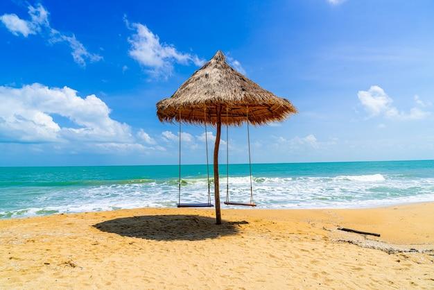 Schommel op het strand