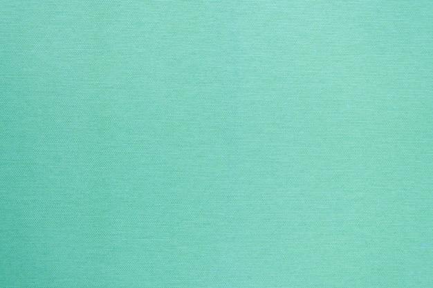 Schone stoffentextuur in muntkleur.