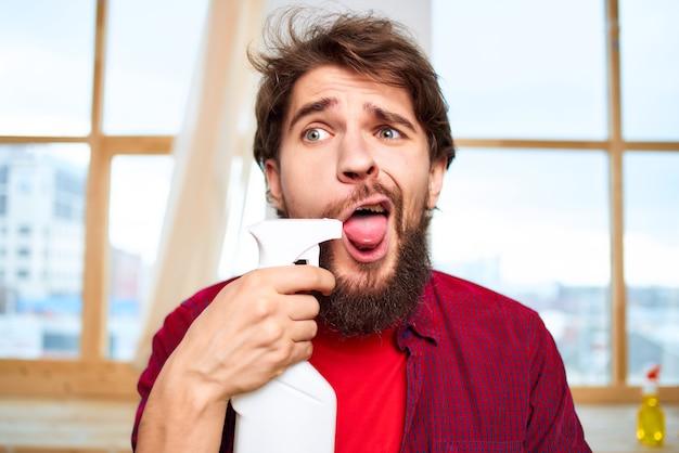 Schonere schoonmaak hygiëne professionele levensstijl