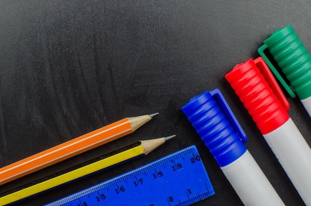School kantoorbenodigdheden inclusief bord